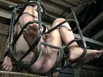 Tortured in the cage sub